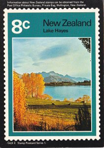 Stamps Of New Zealand Lake Issues
