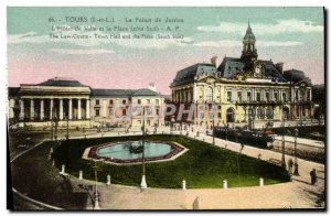 Old Postcard Tours Courthouse
