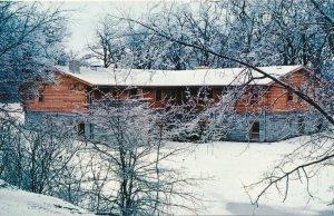 Kingston IL, Illinois - Walcamp Winter View - Lutheran Retreat Center