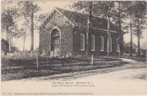 DEERFIELD , New Jersey , 1901-07 ; Old Stone Church