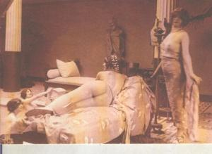 Postal 014920: Postal tematica erotica de principio siglo XIX