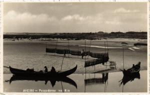 CPA Aveiro- Pescadores na Ria, PORTUGAL (760760)
