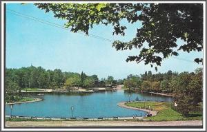 Canada Montreal Beaver Lake Park Postcard