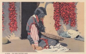The Red Pepper Indian Lady , 1930-40s ; Fred Harvey H-11252