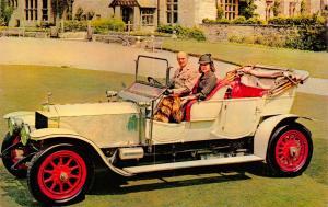 Postcard, Vintage Car 1909 Rolls Royce Silver Ghost, Montagu Motor Museum 79S