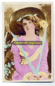 bc0480 - Stage Actress - Mabel Green - postcard