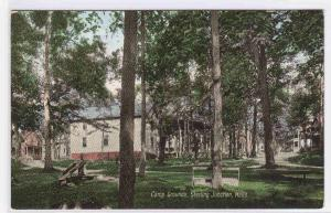 Camp Grounds Sterling Junction MA 1910c postcard