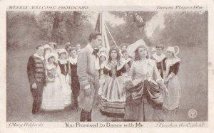 Morris Maypole Dance Dancing Antique Plain Old Back Post Victorian Postcard