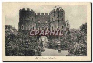 Postcard Old Koln Rhein e Hahnentor