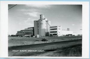 CA - Brawley, Holly Sugar Factory   *RPPC