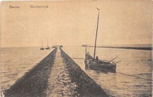 B92994 haven harderwijk ship bateaux netherlands