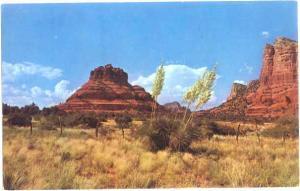 Bell Rock, On Highway 179 in Northern Arizona , AZ 1968 Chrome,