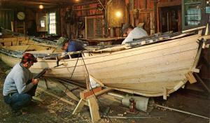 CT - Mystic Seaport. Boat Building