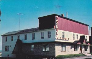 Exterior, Hotel Victoria, Trois-Pistoles, Bar Salon, Quebec,  Canada,  PU_1984