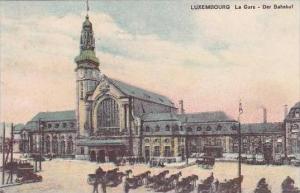 Luxemburg La Gare Der Bahnhof