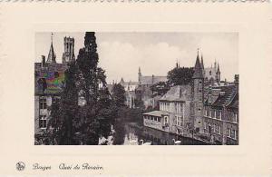 Quai Du Rosaire, Bruges (West Flanders), Belgium, 1900-1910s