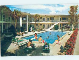 Pre-1980 INN SCENE Clearwater Beach - Near Tampa Florida FL G8968
