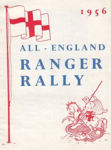 Girl Guides Joan Of Arc 1950s Drama Ranger Rally Brownies Theatre Programme