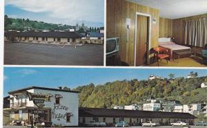 3-Views, Motel Joanne Hotel, Route 15 Highway, Ste-Anne de Beaupre, Quebec, C...