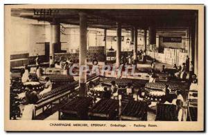 Old Postcard Folklore Wine Harvest Champagne Mercier Epernay Packaging