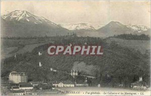 Old Postcard General view Betharram Calvary and Mountains