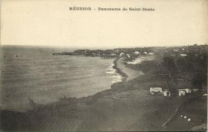 reunion, SAINT-DENIS, Panorama (1899) Messageries Maritimes