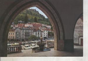 Postal 014138: Vista de Sintra desde la arcada del palacio, Portugal