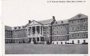 Vermont White River Junction US Veterans Hospital Curteich