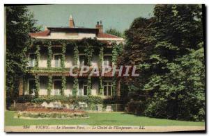 Old Postcard Vichy New Park Chalet De L & # 39Empereur