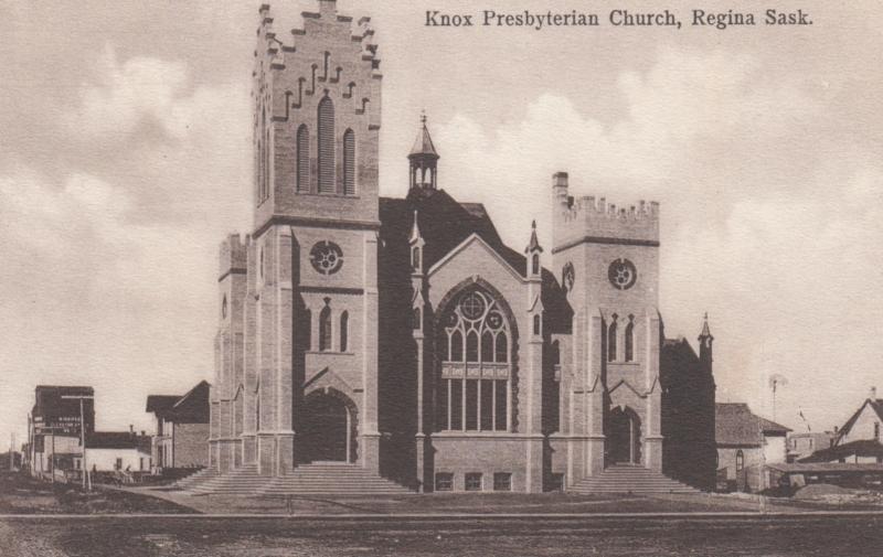 REGINA , Saskatchewan , 1900-10s ; Knox Presbyterian Church : Version-2