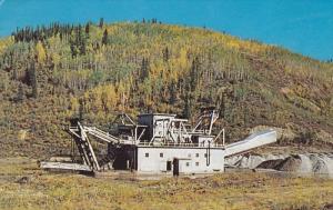 Gold Dredge , DAWSON CITY , Yukon , Canada , 50-60s