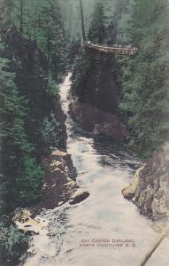 NORTH VANCOUVER, British Columbia, Canada, 1900-1910's; 2nd Canyon Capilano