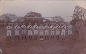 India British Volley Ball Team Real Photo