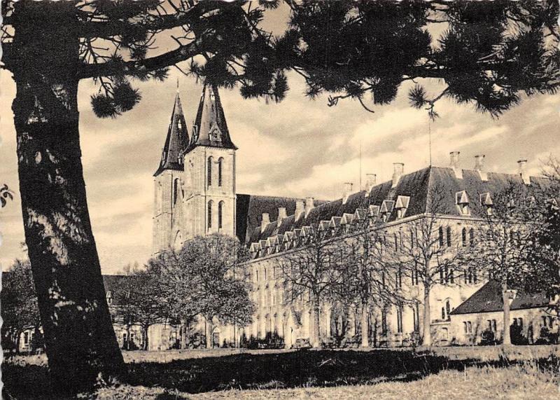 Carte Belgique Maredsous.Belgium Abbaye De Maredsous Abbaye Et Esplanade Abtei