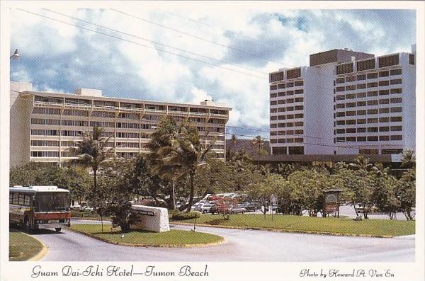 Guam Tumon Beach Dai-Ichi Hotel On Tumon Bay