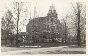 RP: KALKASKA  , Michigan , 1930-40s ; Court House