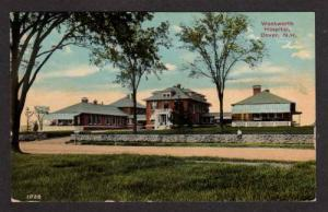 NH Wentworth Hospital DOVER NEW HAMPSHIRE Postcard PC