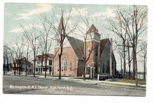 Washington St. M. E. Church, Near High Point, North Carolina, 00-10