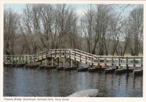 Canada Floating Bridge Kejimkujik National Park Nova Scotia