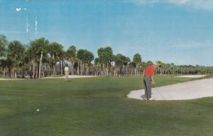HILTON HEAD ISLAND, South Carolina, PU-1966; Sea Pines Plantation Golf Course...