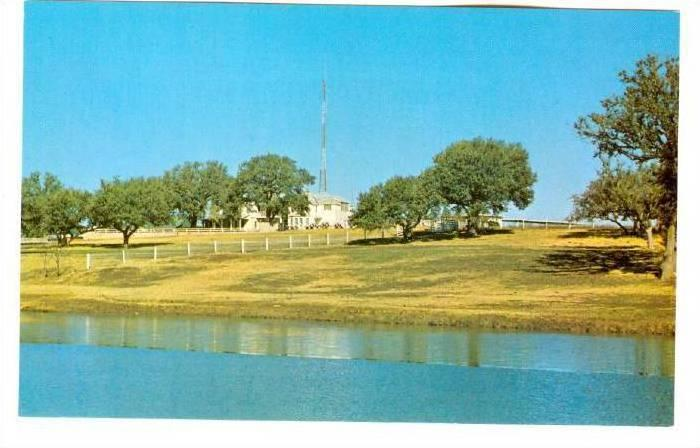The LBJ Ranch on the Pedernales River, San Angelo, Texas,  40-60s