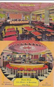 Interior , Hotel Dixie , 43rd street at Broadway , New York City , 30-40s