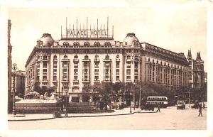 Spain Old Vintage Antique Post Card Palace Hotel Madrid Unused