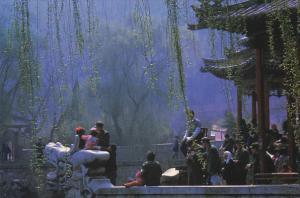 Huaqing Pool in Lintong ox Xi'an Shaan xi China