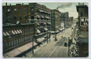 16th Sixteenth Street Denver Colorado 1910 postcard