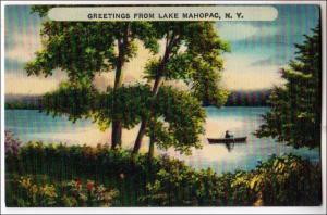 Greetings from Lake Mahopac NY