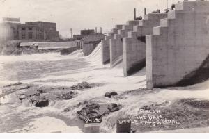 RP: Below the Dam , LITTLE FALLS , Minnesota , PU-1934
