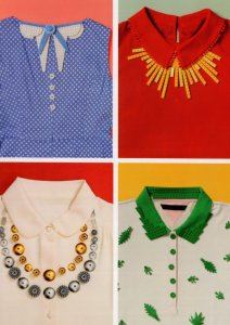 Childrens Girls Shirts Blouses Lego Toy Fashion Display Postcard