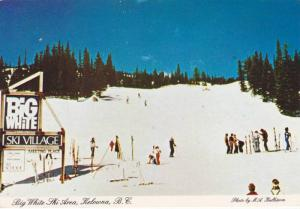 Big White Ski Area, Kelowna, British Columbia,Canada,  50-70s