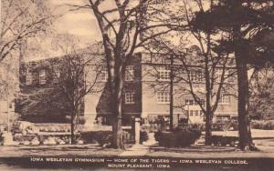 Iowa Wesleyan Gymanasium, Iowa Western College, Mount Pleasant , Iowa , 1910s